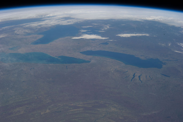 ISS Image of Great Lakes